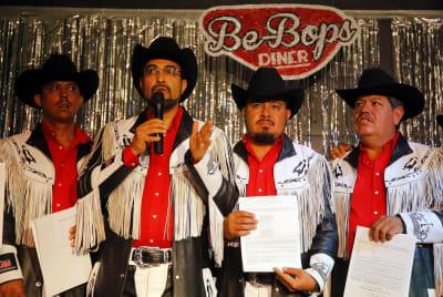 Banda Machos denuncia que fueron amenazados por el crimen organizado (FOTO)