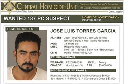 Policía busca a hispano tras hallar 3 cadáveres en cementerio de California
