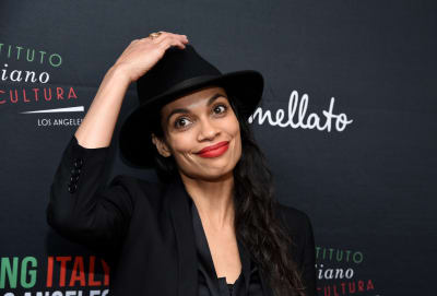 Actress-Rosario-Dawson-attends-2020-Filming-Italy-at-Harmony-Gold-Theatre