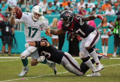 NFL Dolphins vs Texans: cómo ver en vivo el partido del 25 de octubre