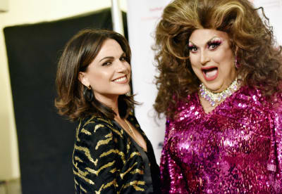 Actor-Lana-Parrilla-and-Anil-Patel-aka-Chanelta-attend-2019-Best-In-Drag