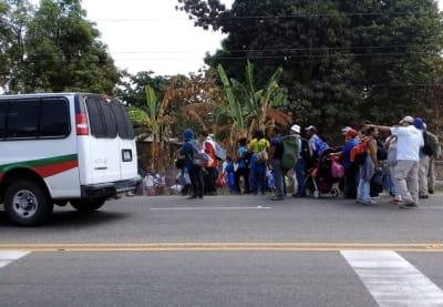 nueva caravana migrante frontera sur México