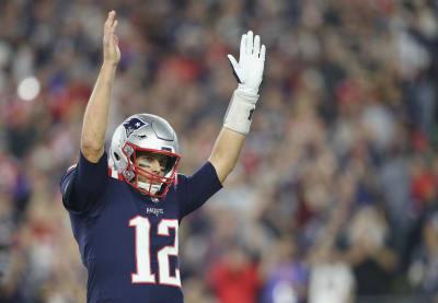 NFL Tom Brady alcanza los 500 pases de touchdown en triunfo de Patriots