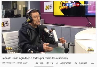 Antonio Sotelo Rodríguez, papá de Piolín luto muerte