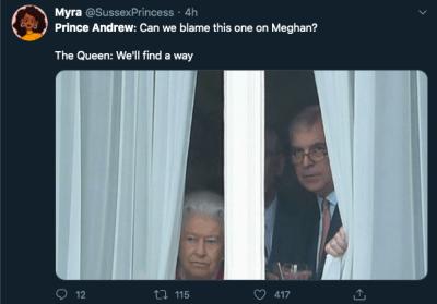 príncipe Andrew Jeffrey Epstein