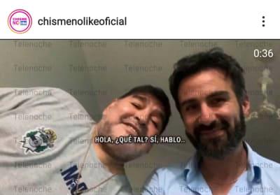 Se filtra llamada al 911 pidiendo ayuda para Diego Armando Maradona Leopoldo Luque