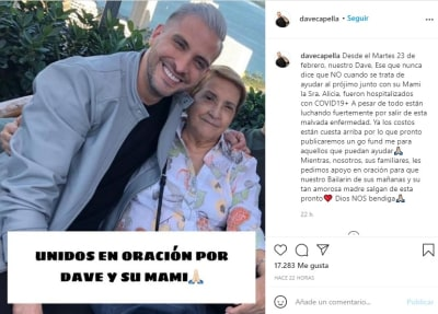 Raúl González amigo Dave Capella coronavirus 3