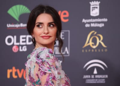 The-actress-Penelope-Cruz-poses-on-the-red-carpet-during-the-34th-edition-of-the-Goya-Cinema-