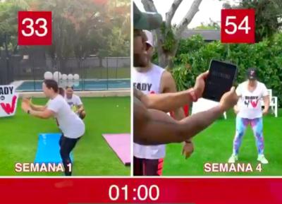 Adamari López haciendo ejercicio (Instagram)