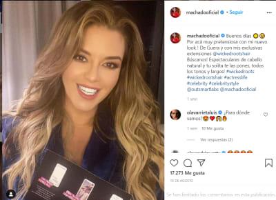 """Le vale que está casada"", Alicia Machada explota contra Kimberly Flores"