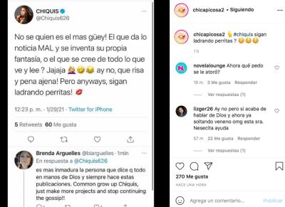 Chiquis Rivera hija Jenni Rivera insulta a mujeres que le dicen 'gorda' (Instagram)