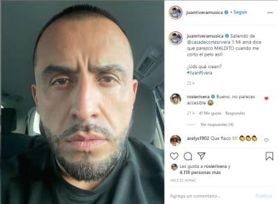 Juan Rivera corte pelo 1
