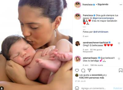 Francisca Lachapel bebé