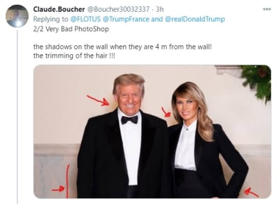 Melania Trump fotografía navideña, primera dama, Esposa de Donald Trump