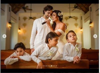Paty Manterola votos matrimoniales 3