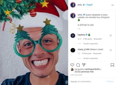 Chicharito Hernández navidad, javier esposa, Sarah Kohan