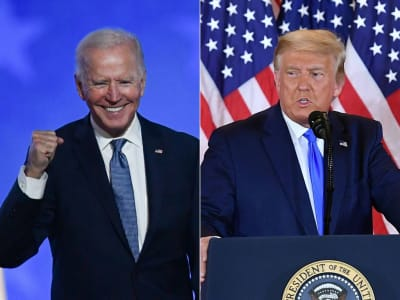 Trump Biden votos Arizona
