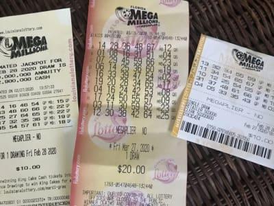 números ganadores Mega Millions