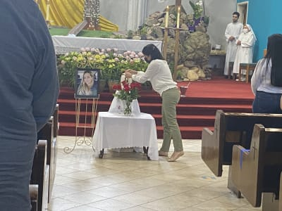 Último adiós Rossana Delgado