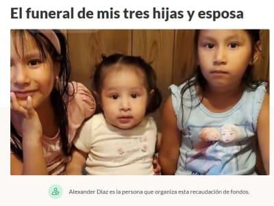 Madre hijas latinas mueren incendio 2