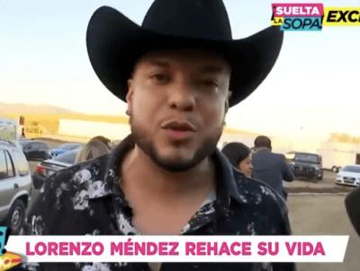 ¿Quién es la nueva novia de Lorenzo Méndez?