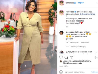 Francisca Lachapel (Instagram)