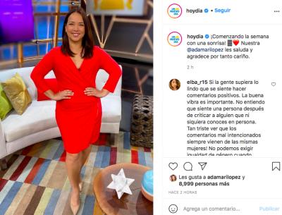 Adamari López vestido apretado adelgazó (Instagram)