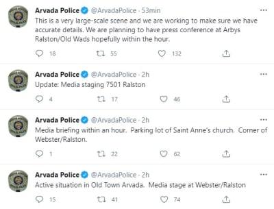 Tiroteo este lunes por la tarde deja a un policía muerto en Colorado