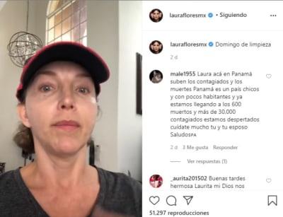 Laura Flores sufre accidente y es intervenida de emergencia