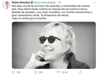 Fallece la actriz Rosa María Sardà a los 78 años