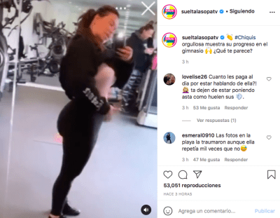 Chiquis Rivera panza (Instagram)