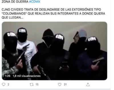 La Raptor, la famosa camioneta del Cártel Jalisco Nueva Generación que fue incendiada CJNG