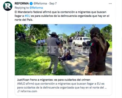 Papeles inmigrantes México