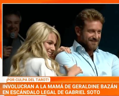 Gabriel Soto habría sido víctima de la mamá de Geraldine Bazán (IG)