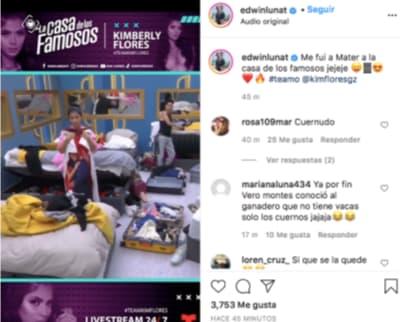 Edwin Luna hizo 'acto de presencia' en La Casa de los Famosos