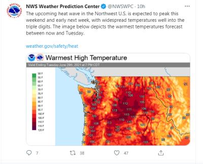 Altas temperaturas Estados Unidos: detalles poco conocidos