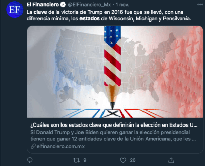 estados clave elecciones 2020