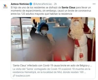 Santa Claus coronavirus 1 asilo