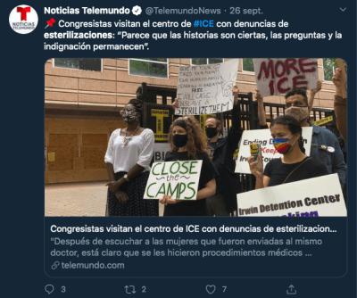 Pauline Binam inmigrante esterilizada ICE Georgia
