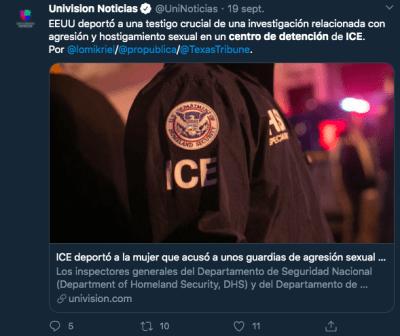 abusos La Palma ICE Arizona