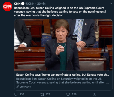Trump nominado Corte Suprema