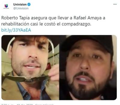 Rafael Amaya internado mentiras 2 Roberto Tapia señor de los cielos
