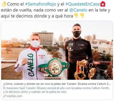 Cuánto gana cada boxeador 2 Canelo Álvarez Callum Smith