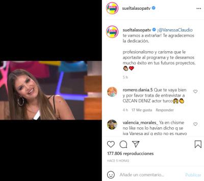 A diferencia de la Veneno Sandoval, Vanessa Claudio recibe emotiva despedida