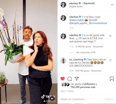 video Eugenio Derbez Alessandra