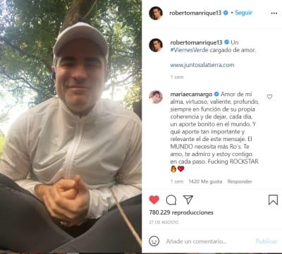 Roberto Manrique confeisa que es gay