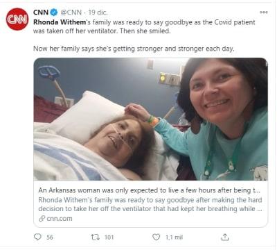 Mujer vive desconectarla coronavirus 1