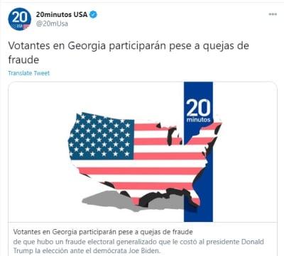 Corte Suprema de Georgia rechaza apelación de Trump
