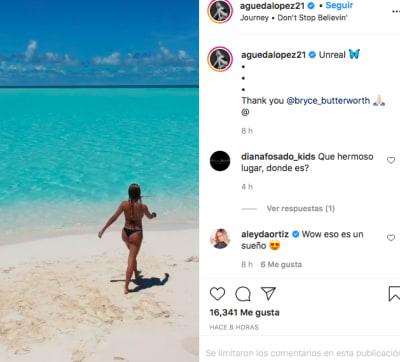 Águeda López (Instagram)