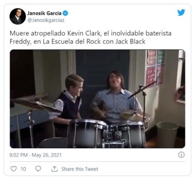 Tragedia: Confirman muerte de Kevin Clark, actor de la cinta 'Escuela de rock'